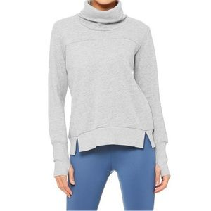 ALO Yoga Haze Long Sleeve Top Size S/M